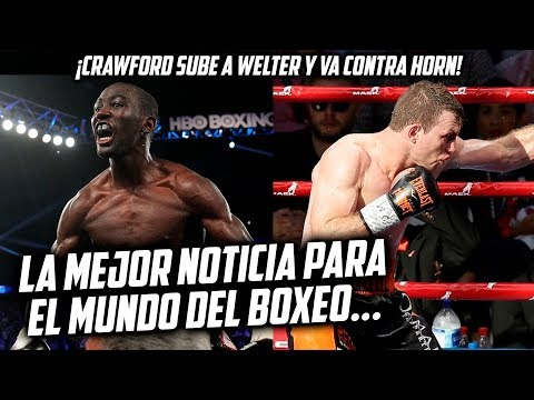 CRAWFORD SUBE A WELTER Y VA CONTRA HORN...