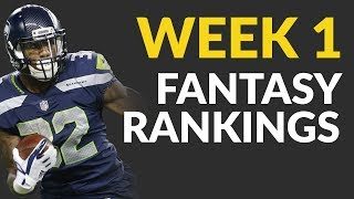 Fantasy Football Ranks For Week 1, Including Breakdowns Of Alfred Morris, Chris Carson & Nick Foles