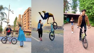BMX Cycle Stunt || New bmx cycle stunt tik tok video || #BMX_Cycle_Stunt