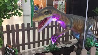 Dino Expo en el Centro Comercial Peñacastillo (Santander) 7-2…