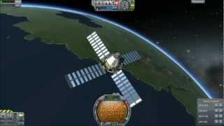Kerbal Space Program - Spy Satellite & ASAT Demonstration
