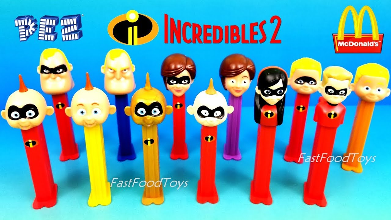 Incredibles Fast Food Toys