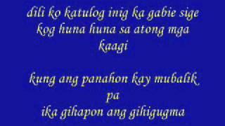 ikaw ang gihigugma w/ lyrics :D