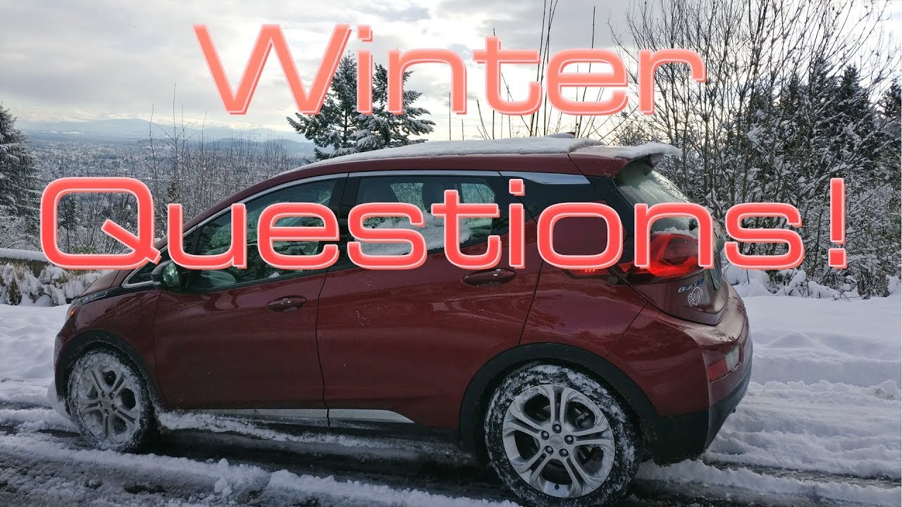 Winter Weather And Electric Cars Here S What You Need To Know