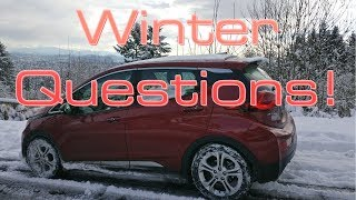 Winter Weather and Electric Cars: Here