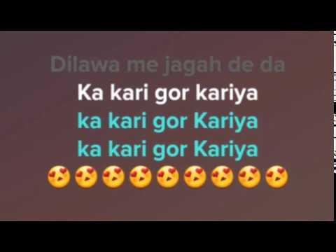 Gor Kariya % गोर करिया % Pawan Singh % Bhojpuri Karaoke Track With Lyrics By Ram Adesh Kushwaha