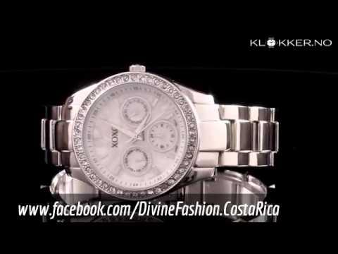 c809c6b57574 Reloj Xoxo Plateado para mujer - YouTube