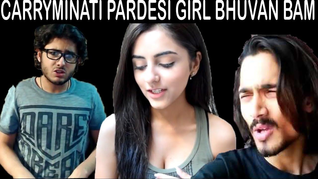 Download CarryMinati Pardesi Girl BB Ki Vines (Reaction Channel Roast)