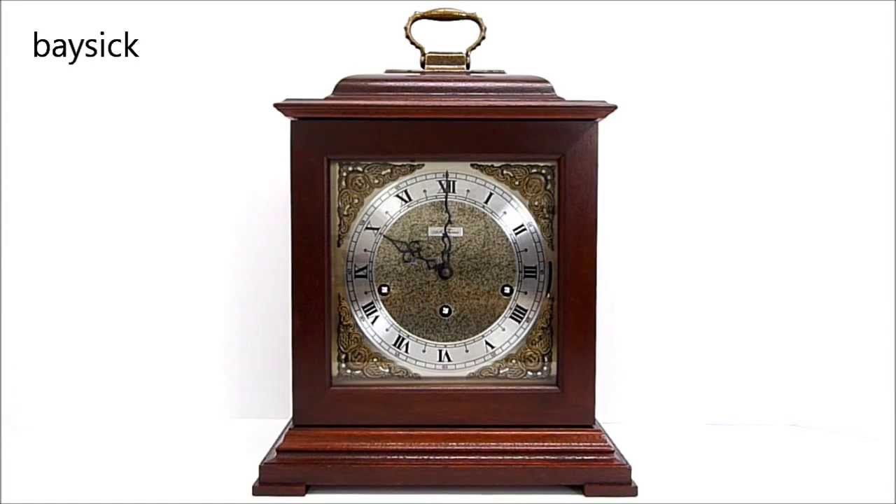 1981 seth thomas legacy bracket mantel clock with westminster 1981 seth thomas legacy bracket mantel clock with westminster chime baysick youtube amipublicfo Choice Image