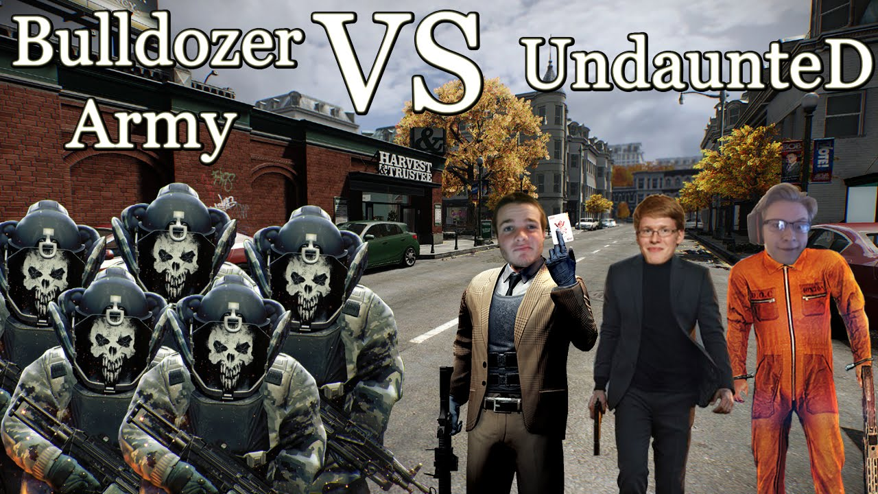 Army Of Bulldozers Payday 2 Pc Youtube