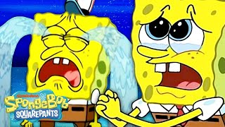 Every Time SpongeBob CRIES Ever 😭