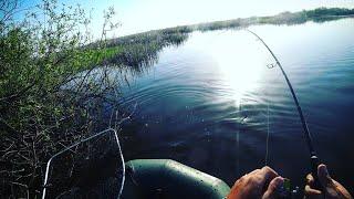 Эта приманка ловит всегда Ловля щуки на спиннинг с лодки Рыбалка на реке Кайф