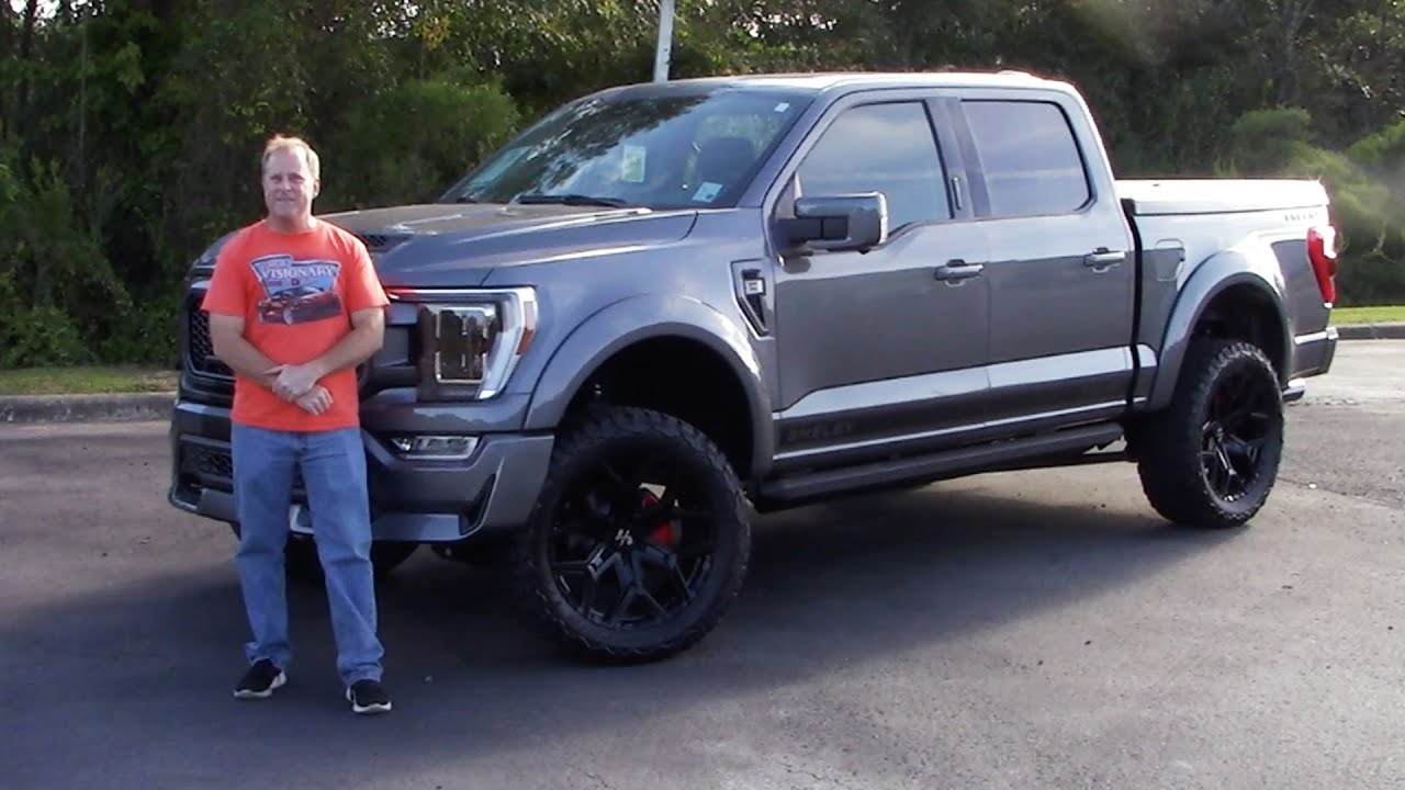 2021 Ford F-150 Shelby Super Snake Off-Road - A CRAZY 775 HP TRUCK!