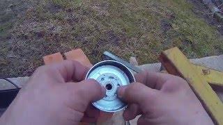 Ремонт тарелки сцепления мотокосы(Этот ролик обработан в Видеоредакторе YouTube (https://www.youtube.com/editor), 2016-04-09T13:43:54.000Z)