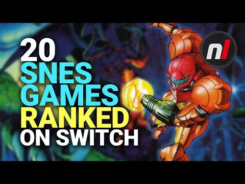 Ranking The First 20 SNES Games On Nintendo Switch