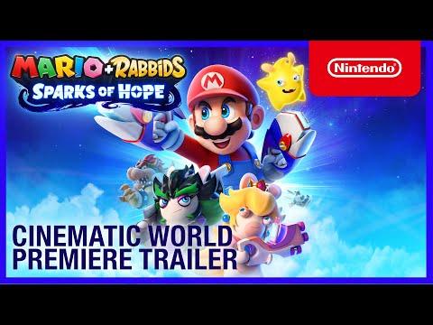 Mario + Rabbids Sparks of Hope - Cinematic World Premiere Trailer - Nintendo Switch