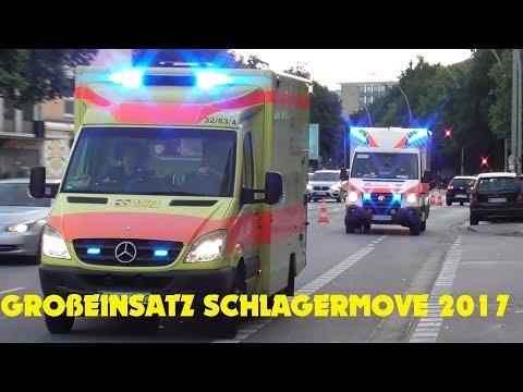 GROSSEINSATZ SCHLAGERMOVE HAMBURG 2017