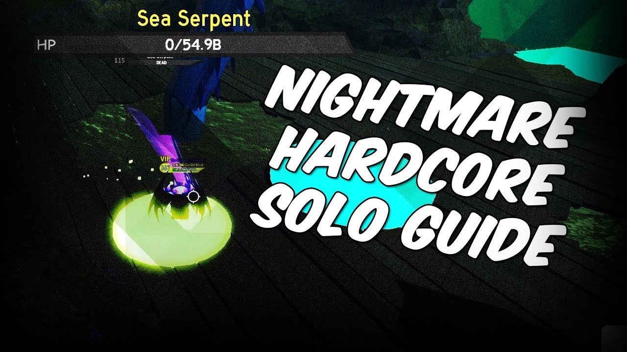 Ghastly Harbor Nightmare Hardcore New Best Armor Roblox Free