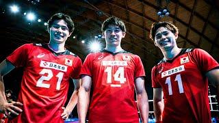 TRIO of Volleyball Team Japan   Yuji Nishida, Yuki Ishikawa and Ran Takahashi   HD