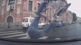 Решил проехаться на велосипеде по дороге