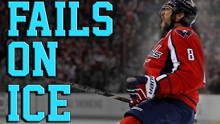 JFF || Epic Ice and Hockey Fails Compilation February 2017
