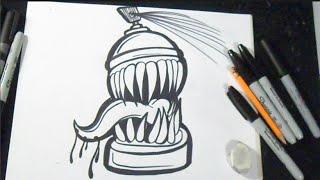 как рисовать баллончик граффити(рисунок аэрозоль граффити музыка (Audiomicro.com) Epic Dubstep y Dubstep loop 2., 2014-11-25T21:56:47.000Z)