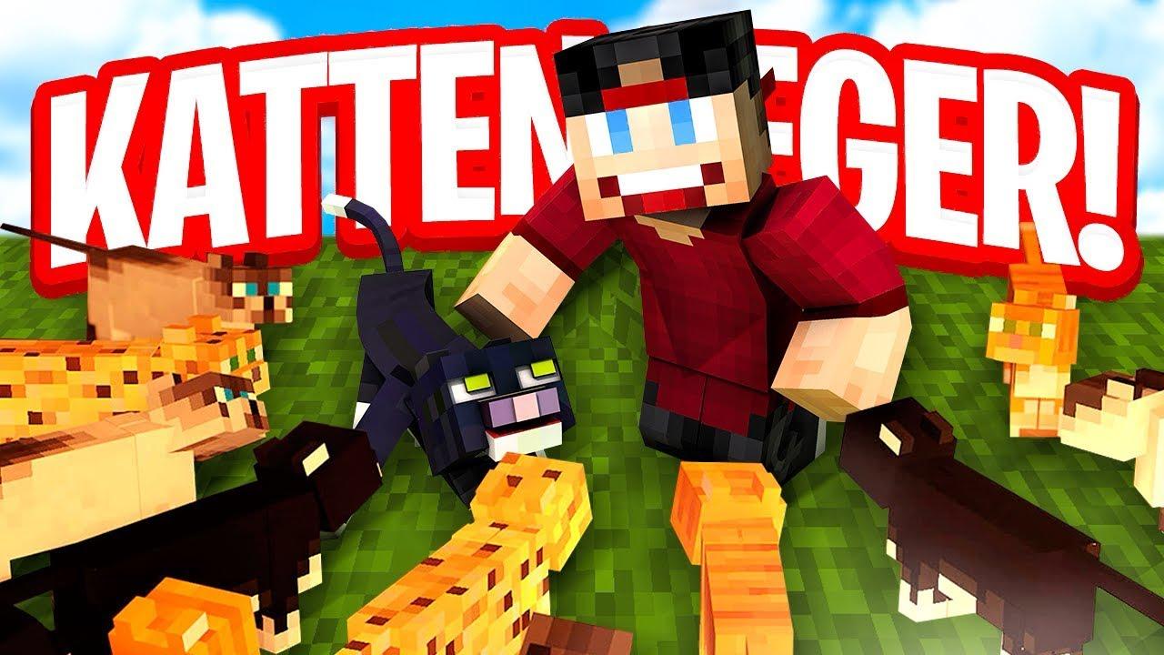 MIJN EIGEN KATTEN LEGER! - Minecraft