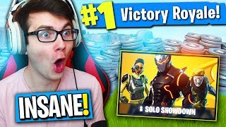 LE NOUVEAU MODE DE JEU « SOLO SHOWDOWN » EST INSENSÉ ! (Fortnite 50,000 V-Bucks Concurrence)