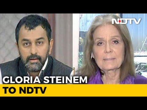 Gloria Steinem's Message To Donald Trump: 'You're Fired!'