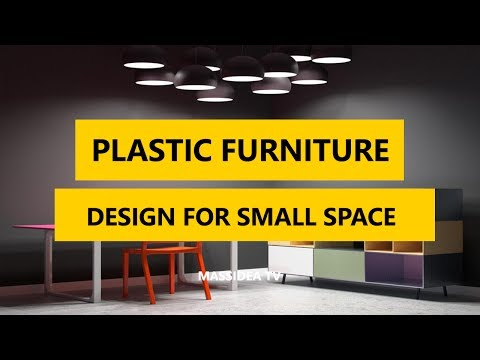 45+ Cool Plastic Furniture Design Ideas for Small Space 2017