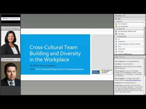 Hire Immigrants Webinar: Cross-Cultural Team Building and Diversity in the Workplace