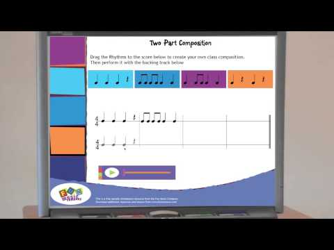 Music Teaching Idea for Composition in Two Parts