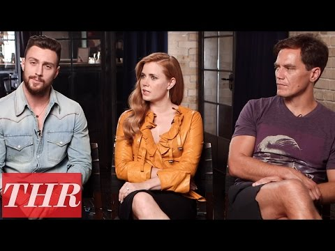 "Amy Adams, Michael Shannon on 'Nocturnal Animals' Director Tom Ford ""He Smells Good"" 