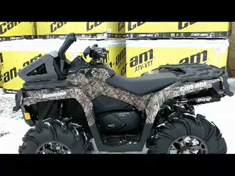 2012 Canam Outlander 1000xt Custom Camo For Mr Xt P High