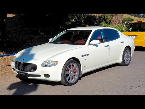 2007 Maserati Quattroporte (Germany Import) Japan Auction Purchase Review