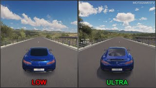 Forza Horizon 3 [PC] - Low vs Ultra - Graphics Comparison