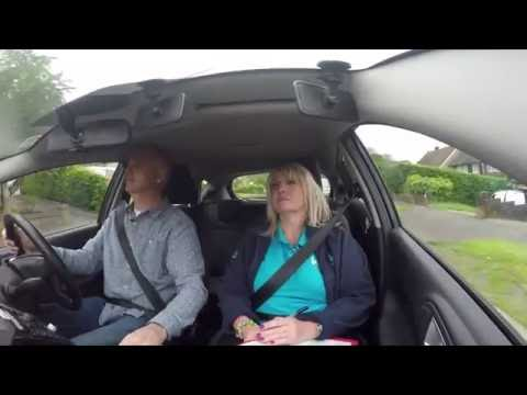 Driving test retake: two experienced drivers try to pass