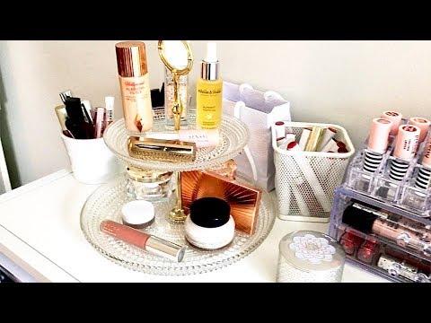 Makeup Station | Beauty Room | How I Organize My Makeup