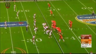 Deshaun Watson to Hunter Renfrow for touchdown - Orange Bowl