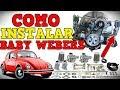 Como Instalar Unos Baby Webers Empi Al Vocho(Carburadores Laterales) | De Tocho Morocho Tutoriales.