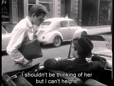 Jean-Luc Godard  A bout de souffle Scène finale