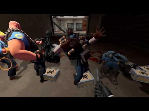 Team Fortress 2 - Backstab Death Animations