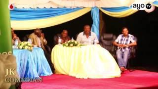 JK Comedian alivyomuiga Rais Kikwete na Magufuli kwenye upande wa soka