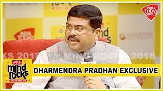 Oil Minister Dharmendra Pradhan Defends High Fuel Prices At Mind Rocks 2018