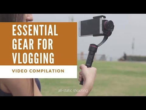 ESSENTIAL VLOG GEAR | EQUIPMENT TO USE FOR VLOGGING