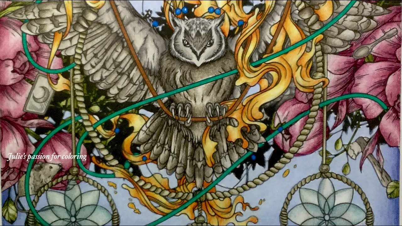Mythographic Color And Discover Imagine By Joseph Catimbang Prismacolor Pencils Color Along Youtube