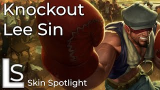 Knockout Lee Sin - Skin Spotlight - Crime City Collection - League of Legends