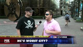 EDGE ON THE STREET : Which Is The WORST City In North Carolina?