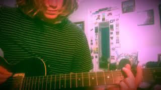 Burn The Rain - Kurt Cobain Guitar lesson + Tutorial