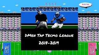 DMen Tap Tecmo League - NFC Playoffs